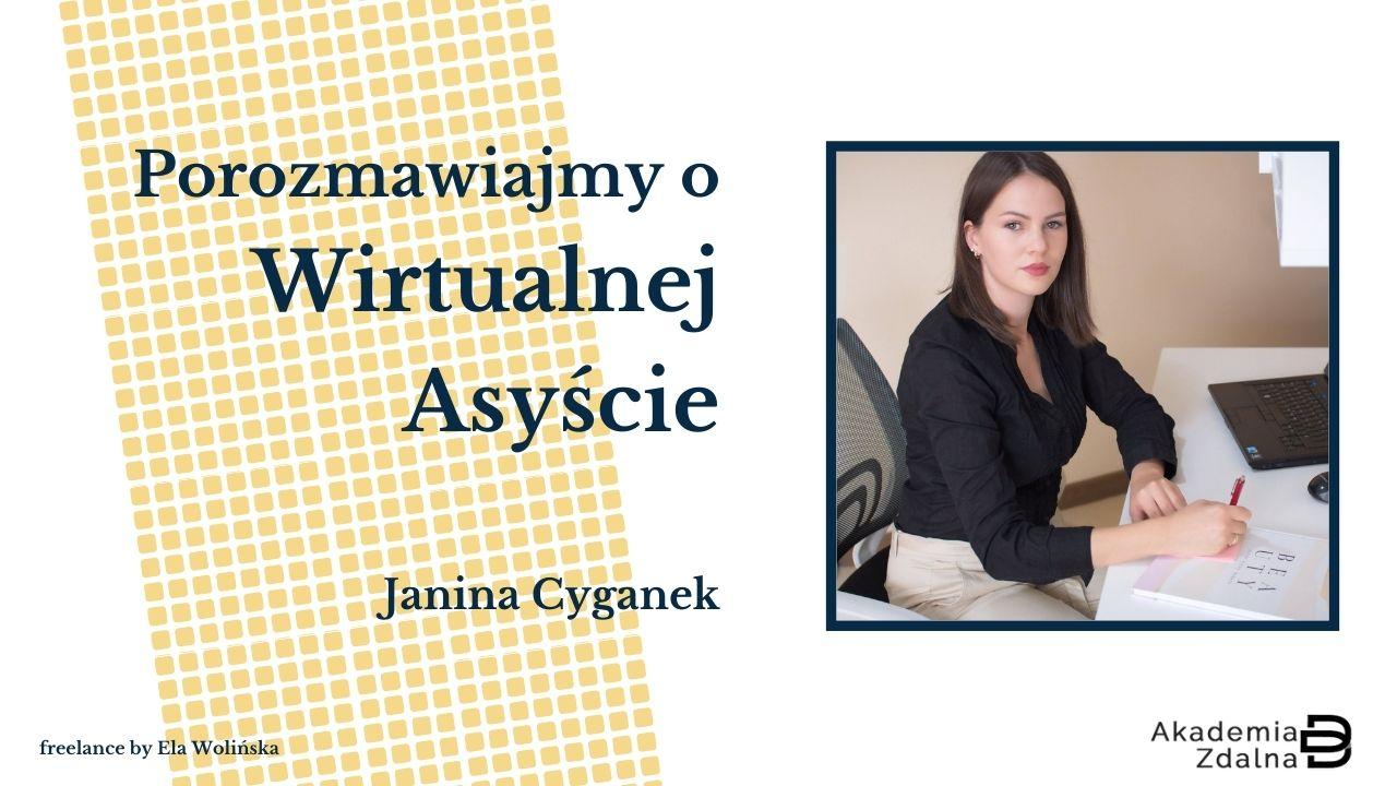 #3 Jak z pasji zrobić specjalizację i wspierać w niej klientów? – Rozmowa z Janiną Cyganek